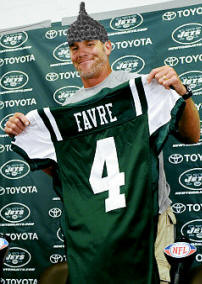 Tired of the Brett Favre Saga - New York Jets
